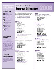 Service Directory - Texas Council on Family Violence