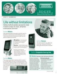 Issue 12 – Summer 2012 - Rehder Balance & Hearing