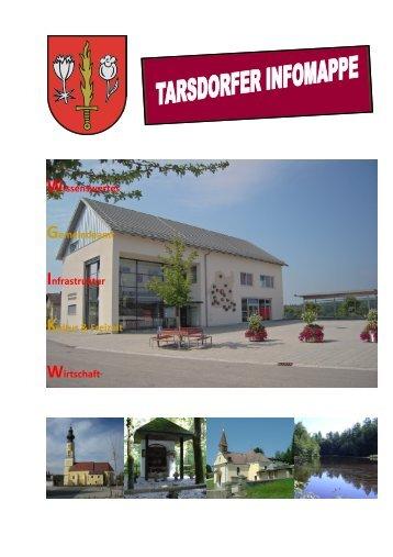 Wissenswertes Gemeindeamt Infrastruktur Kultur ... - Tarsdorf