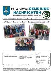 Gemeindezeitung 4/2012 (12,83 MB) - .PDF - St. Ulrich bei Steyr