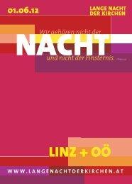 LINZ + OÖ - Lange Nacht der Kirchen