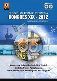 KONGRES XIX - 2012 - Persatuan Insinyur Indonesia