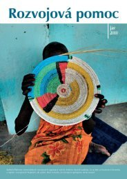 Bulletin Platformy mimovládnych rozvojových ... - Platforma MVRO