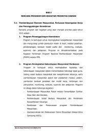 BAB V - Bappeda Aceh - Pemerintah Aceh