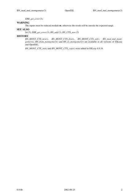 BN_mod_mul_montgomery(3)