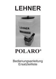 Polaro Betriebsanleitung - Remund + Berger