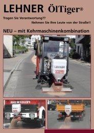 ÖlTiger Prospekt - Remund + Berger