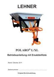 Betriebsanleitung Polaro L/XL - Remund + Berger