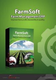 Download the FarmSoft Farm ERP Brochure - Farm Software