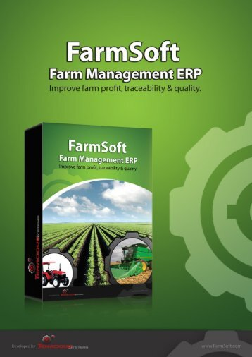 Download the FarmSoft Farm ERP Brochure - Farm Software