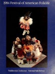 1984 Festival ofAmerican Folklife - Smithsonian Institution