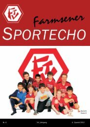 Sporteche 4/2012 - Farmsener Turnverein in Hamburg