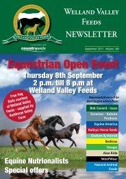 Equestrian Open Event - Welland Valley Feeds