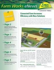 May eNews - Farm Works Software