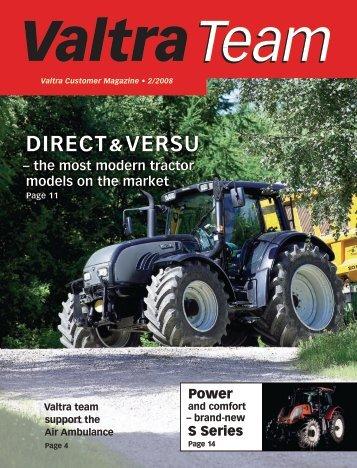 Direct &Versu - Valtra