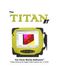 Titan RT Product Guide - Farm Works Software