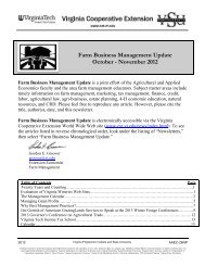 Farm Business Management Update October - November 2012