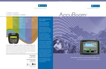 AccuBoom - Farm Depot