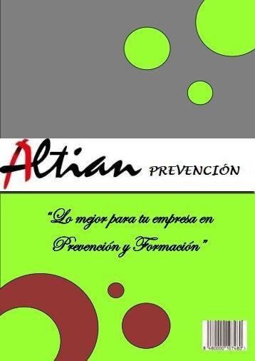 """""""Lo mejor para tu empresa en Prevención y Formación"""""""