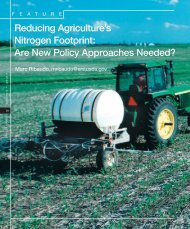 Reducing Agriculture's Nitrogen Footprint - Economic Research ...