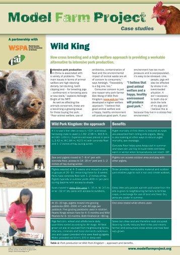 Wild King - Model Farm Project
