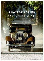 CHÂTEAU CAPION SAXENBURG WINES - Nauer Weine