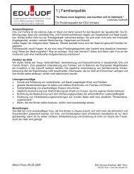 1 Familienpolitik - EDU Schweiz