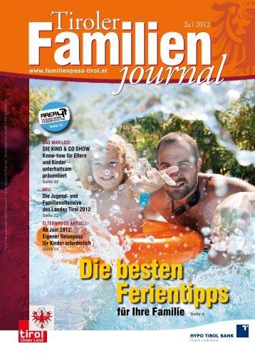 Journal 2/12 - Tirol - Familienpass