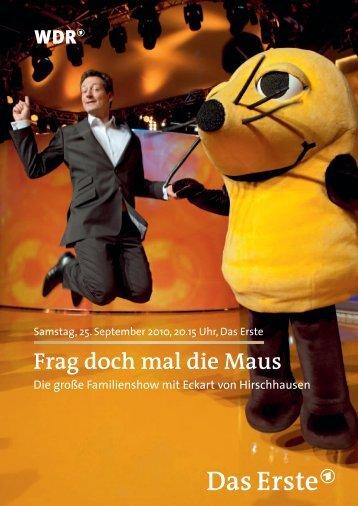 Frag doch mal die Maus - WDR.de
