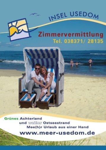 Die Ferienhäuser Jornitz - Usedom