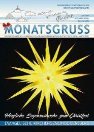 Laden Sie sich hier den Monatsgruß als PDF - Evangelische ...