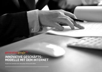 Generation Google - Institut der deutschen Wirtschaft Köln