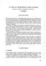 A Békés Megyei Múzeumok Közleményei 11. Békéscsaba, 1988 - EPA