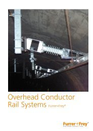 Overhead Conductor Rail Systems