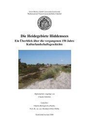 Institut für Botanik und Landschaftsökologie - Ernst-Moritz-Arndt ...