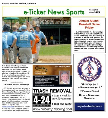 June 4, 2012, Section B - e-Ticker News of Claremont, NH