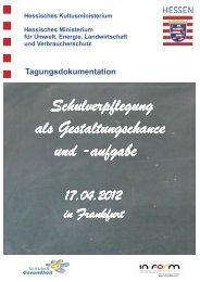 Dokumentation - Schule & Gesundheit - Hessen