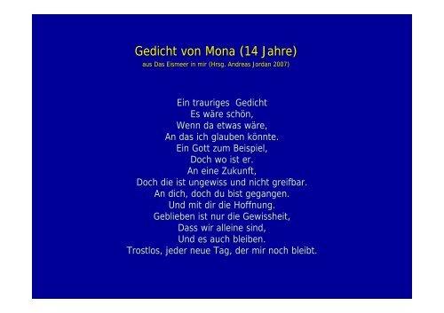 Gedicht Von Mona 14 Jahr