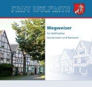 Wegweiser - Wülfrath