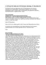 Mitschrift 4 CI-Forum St Gallen CI IG Schweiz Korr - CI ...