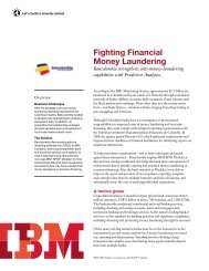 Fighting Financial Money Laundering