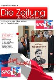 Informationen und Wissenswertes aus der ... - SPÖ Hainfeld