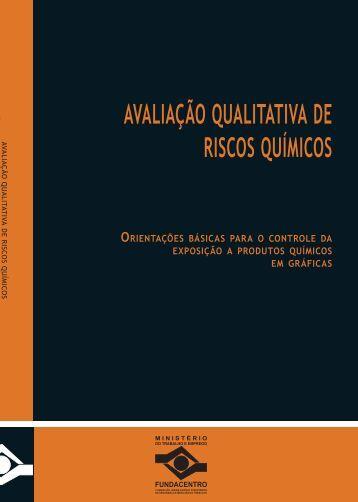 AVALIAÇÃO QUALITATIVA DE RISCOS QUÍMICOS