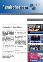 Rundschreiben Februar 2012 - Jvb-bayern.de