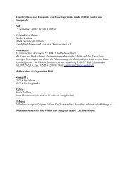 Ausschreibung Neuforst 2008 - IPZV