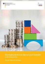 Vereinbarkeit von Beruf und Familie im Kreditgewerbe