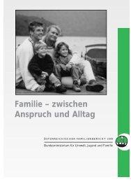 Familie – zwischen Anspruch und Alltag - beim Österreichischen ...