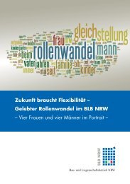 Gelebter Rollenwandel im BLB NRW - Bau- und ...