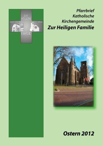 Ostern 2012 - Zur Heiligen Familie in Kleve