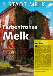 2,07 MB - Stadtgemeinde Melk